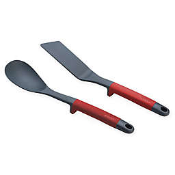 Joseph Joseph® Elevate™ 2-Pack Solid Spoon & Flexible Turner Set in Red