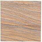 Thirstystone® Rainbow Sandstone Single Square Coaster in Brown
