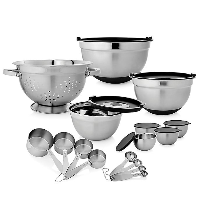 Alternate image 1 for 23-Piece Stainless Steel Kitchen Set