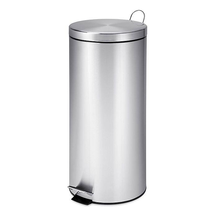 Alternate image 1 for Honey-Can-Do® 30-Liter Step Trash Can