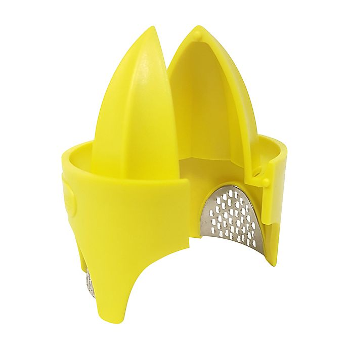 Alternate image 1 for Citrus Zester and Reamer in Yellow