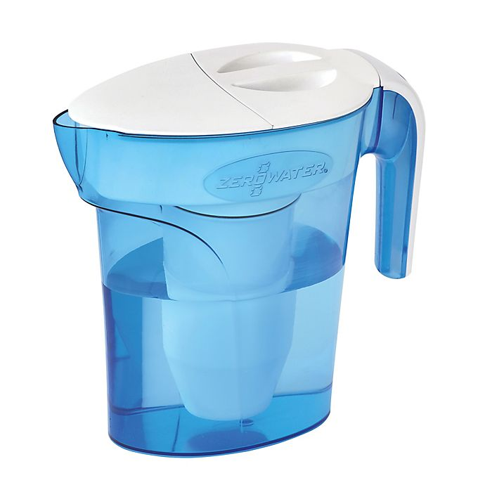 Alternate image 1 for ZeroWater® 7-Cup Pitcher in Blue