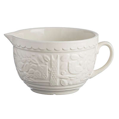 Mason Cash® Forest 9.75-Inch Stone Batter Bowl with Owl Embossment in Cream
