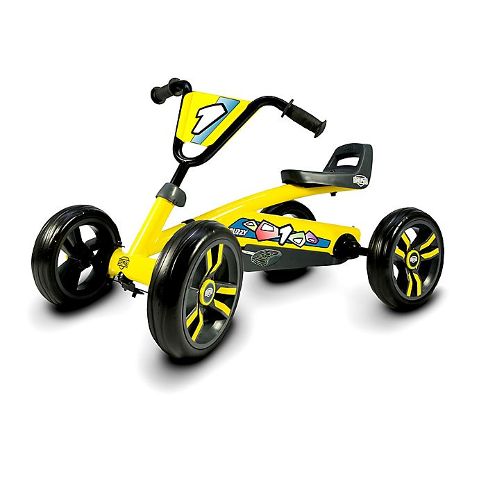 Alternate image 1 for BERG Buzzy Pedal Kart in Yellow