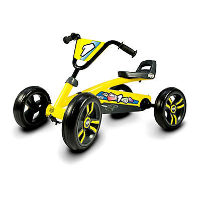 BERG Buzzy Pedal Kart in Yellow