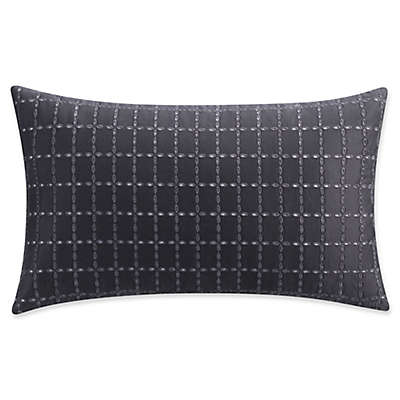 Isaac Mizrahi Home Lilla Oblong Throw Pillow in Grey