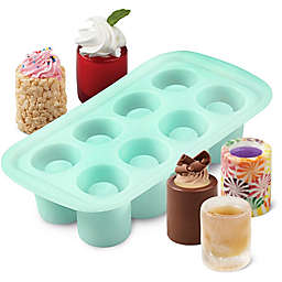 Wilton® 8-Cavity Shot Glass Silicone Mold in Green