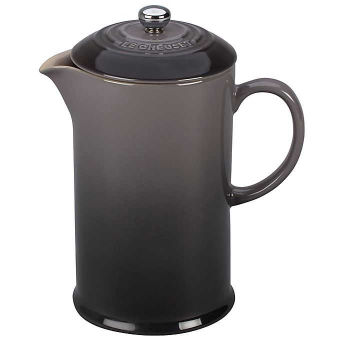 Alternate image 1 for Le Creuset® 27 oz. French Press in Oyster