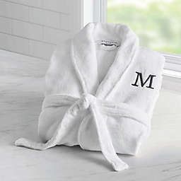 Wamsutta® Unisex Terry Personalized Bathrobe in White