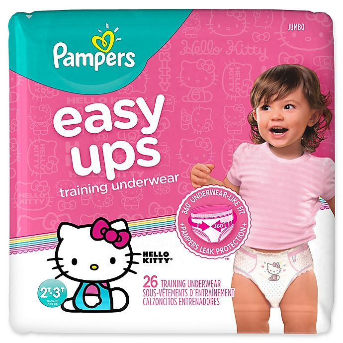 Alternate image 1 for Pampers® Easy Ups Girl's Training Underwear