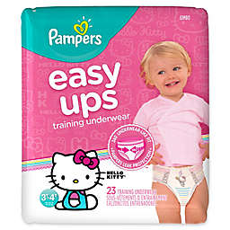 Pampers® Easy Ups Size 3-4T 23-Count Girl's Training Underwear