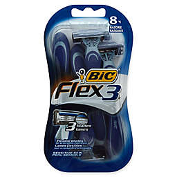 BIC® Flex 3™ 8-Pack Men's Disposable Razor