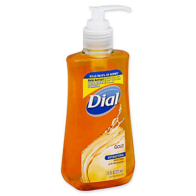 Dial® Antibacterial Hand Soap with Moisturizer in Gold Collection