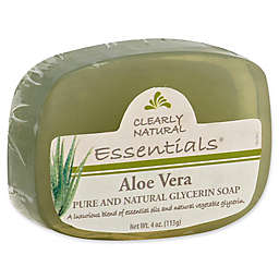 Clearly Natural Essentials 4 oz. Glycerine Bar Soap in Aloe
