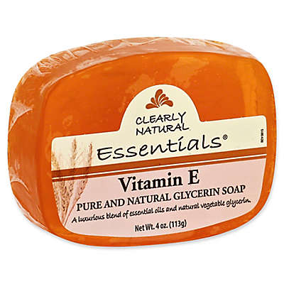 Clearly Natural Essentials 4 oz. Glycerine Bar Soap in Vitamin E