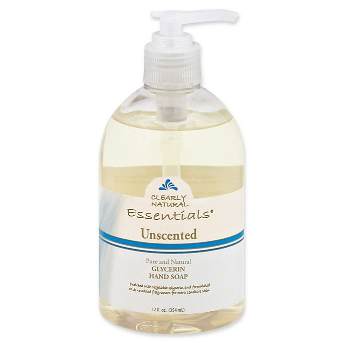 Alternate image 1 for Clearly Natural Essentials 12 oz. Glycerine Pump Soap in Unscented