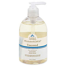 Clearly Natural Essentials 12 oz. Glycerine Pump Soap in Unscented