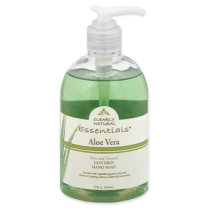 Alternate image 1 for Clearly Natural Essentials 12 oz. Glycerine Bar Soap in Aloe Vera