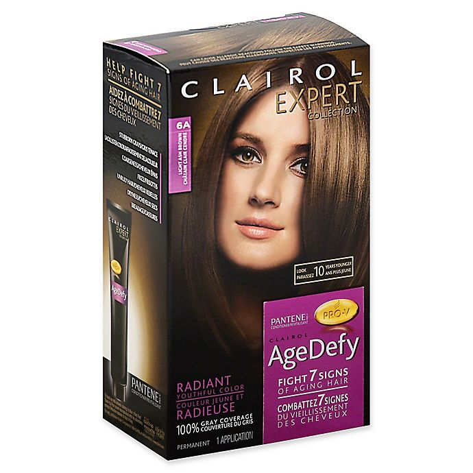 Clairol Expert Collection Age Defy Hair Color In 6a Light