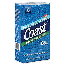 Coast® 8-Count 4 oz. Refreshing Deodorant Bar Soap in Classic Pacific Force Scent