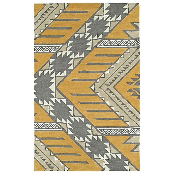 Alternate image 1 for Kaleen Lakota Winona 3-Foot 6-Inch x 5-Foot 6-Inch Area Rug in Butterscotch