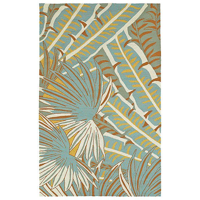 Alternate image 1 for Kaleen Yunque Tropica Indoor/Outdoor 8-Foot x 10-Foot Area Rug in Ivory