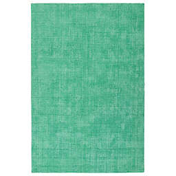 Kaleen Lauderdale Indoor/Outdoor Solid 2-Foot x 3-Foot Accent Rug in Mint