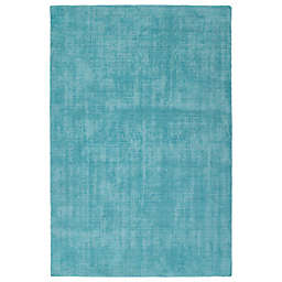 Kaleen Lauderdale Indoor/Outdoor Solid 2-Foot x 3-Foot Accent Rug in Spa