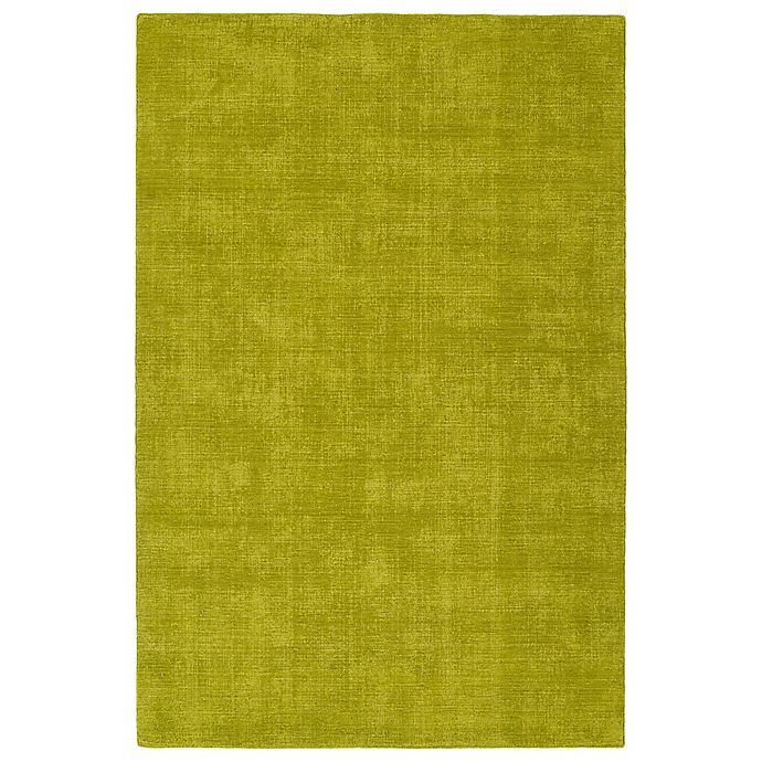 Alternate image 1 for Kaleen Lauderdale Indoor/Outdoor Solid 3-Foot 6-Inch x 5-Foot 6-Inch Area Rug in Lime Green