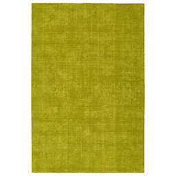 Kaleen Lauderdale Indoor/Outdoor Solid 3-Foot 6-Inch x 5-Foot 6-Inch Area Rug in Lime Green