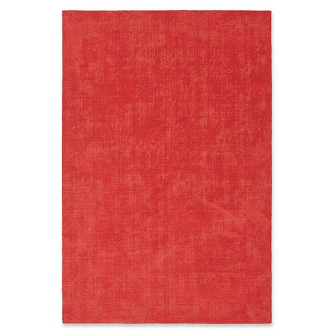 Alternate image 1 for Kaleen Lauderdale Indoor/Outdoor Solid 5-Foot x 7-Foot  6-Inch Area Rug in Pink