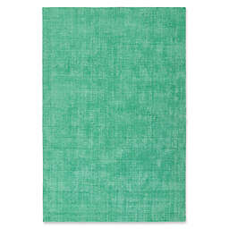Kaleen Lauderdale Indoor/Outdoor Solid 5-Foot x 7-Foot  6-Inch Area Rug in Mint