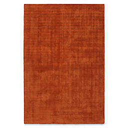 Kaleen Lauderdale Indoor/Outdoor Solid 5-Foot x 7-Foot  6-Inch Area Rug in Rust