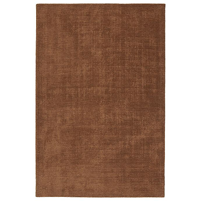 Alternate image 1 for Kaleen Lauderdale Indoor/Outdoor Solid 8-Foot x 10-Foot Area Rug in Light Brown