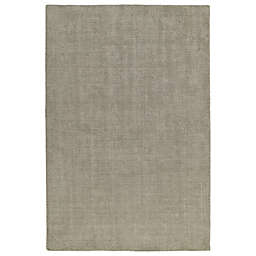 Kaleen Lauderdale Indoor/Outdoor Solid 8-Foot x 10-Foot Area Rug in Graphite