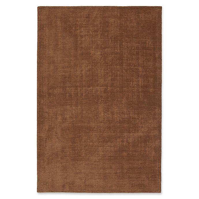 Alternate image 1 for Kaleen Lauderdale Indoor/Outdoor Solid 9-Foot x 12-Foot Area Rug in Light Brown
