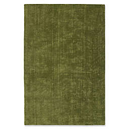 Kaleen Lauderdale Indoor/Outdoor Solid 9-Foot x 12-Foot Area Rug in Fern