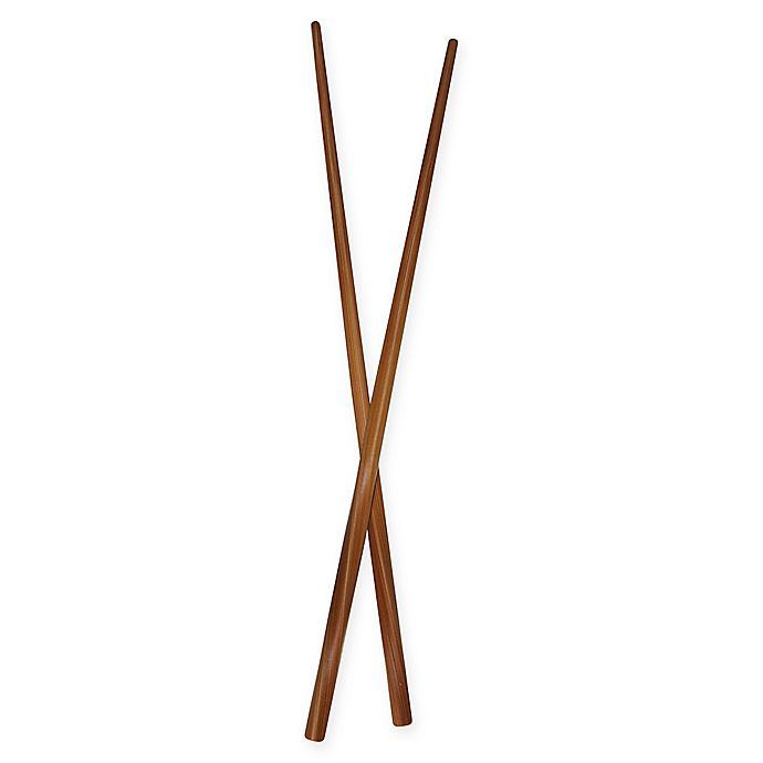 Alternate image 1 for Totally Bamboo Twist Chopsticks in Natural (Set of 5)