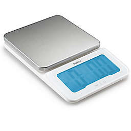 Polder Products 11 lb. Digital Mini-Jumbo Stainless Steel Kitchen Scale