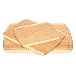 Core Bamboo 3-Piece Cutting Board Set