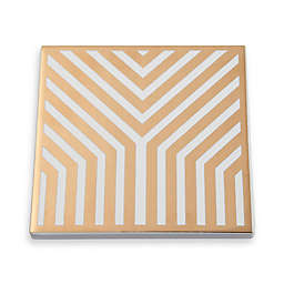 Thirstystone® Old Hollywood Art Deco Square Coasters in Gold (Set of 4)