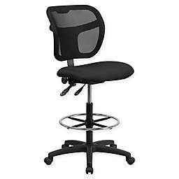 Flash Furniture Adjustable Drafting Stool