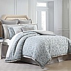Charisma Home Legacy King Comforter Set in Blue