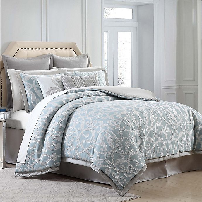 Alternate image 1 for Charisma Home Legacy Comforter Set in Blue