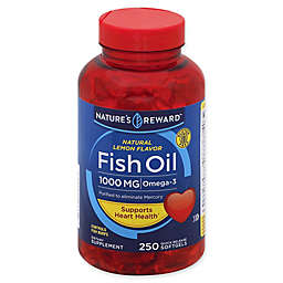 Nature's Reward™ 80-Count 1000 mg Fish Oil Quick Release Softgels in Natural Lemon Flavor
