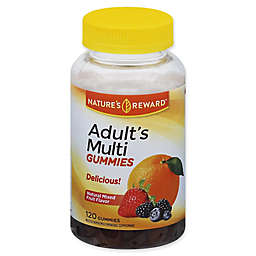 Nature's Reward™ 120-Count Adult's Multivitamin Gummies in Natural Mixed Fruit Flavor