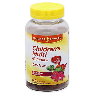 Nature's Reward™ 120-Count Children's Multivitamin Gummies in Natural Mixed Fruit Flavor