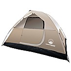 Wakeman Outdoors 4-Person Dome Tent in Tan