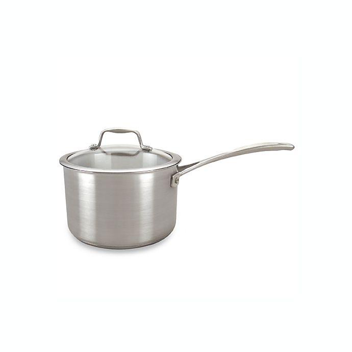 American Kitchen™ Stainless Steel 3-Quart Saucepan | Bed ...