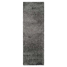 Safavieh California Shag 2-Foot 3-Inch x 11-Foot Irvine Rug in Dark Grey